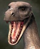 Dragon Portrait 3D, CG Imagenes de archivo