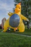 Dragon puppet Royalty Free Stock Photo