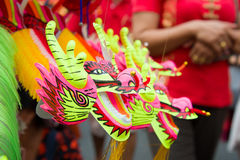 Dragon Puppet Toy in China Town Market Stock Image