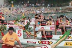 Dragon Racing en Stanley Fotos de archivo libres de regalías
