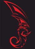 Dragon Red Fotografia Stock