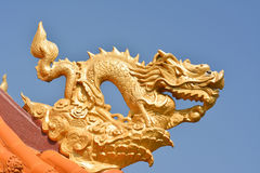 Dragon religious decoration Stock Photos