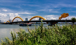 Dragon River Bridge Fotografia Stock