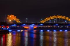 Dragon River Bridge fotografia de stock