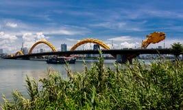 Dragon River Bridge Stock Photography