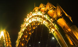 Dragon River Bridge Royalty Free Stock Photo