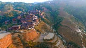 Dragon's back Guilin Guangxi China. Tiantou Stock Photography