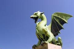 Dragon's Bridge Ljubljana Stock Photo