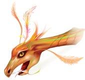 Dragon`s head Royalty Free Stock Image