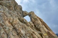 Dragon's window in Romania Stock Images