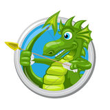 Dragon Sagittarius Zodiac-teken Royalty-vrije Stock Fotografie
