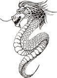 Dragon sans jambes chinois Photographie stock libre de droits