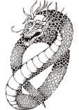 Dragon sans jambes chinois Images libres de droits