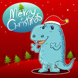 Dragon santa Stock Photos