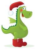 Dragon - Santa  Claus Stock Photos