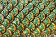 Dragon scale pattern Stock Photography