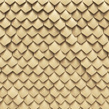Dragon scales. Fantasy dragon skin from yellow scales Royalty Free Illustration