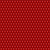 Dragon Scales Seamless Pattern Texture rouge barre Photographie stock libre de droits