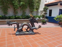 Dragon Sclupture Stockbild