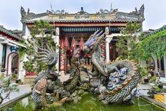 Dragon scu;ptures Stock Photography