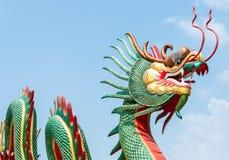 Dragon sculpture Stock Images