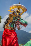 Dragon sculpture on Bali Stock Photo