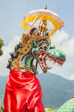 Dragon sculpture on Bali Stock Photography