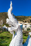 Dragon sculpture at the Butterfly Park in Benalmadena Stock Images