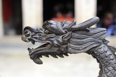 Dragon sculpture Royalty Free Stock Images