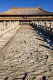 The dragon sculpture in Forbidden City Royalty Free Stock Photos
