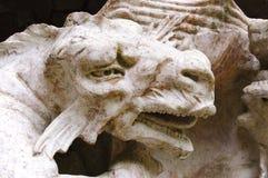 Dragon Sculpture head Stock Photos