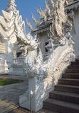 Dragon sculpture in White Temple Wat Rong Khun in Chiang Rai Stock Photos
