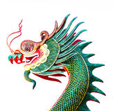 Dragon sculture head Royalty Free Stock Images