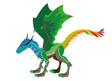 Dragon of seasons. Stock Images