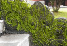 Dragon-shaped handrail in Hue Imperial Palace. Vietnam stock photos