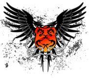 Dragon Shield ilustração royalty free