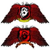 Dragon Shields Immagine Stock Libera da Diritti