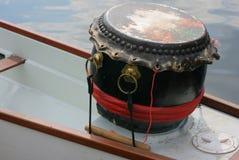 Dragon ship-percussion. Still-life royalty free stock image