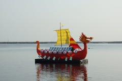 Dragon ship royalty free stock photography