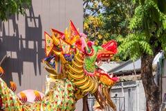 Dragon shown Royalty Free Stock Photos