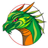 Dragon sign Royalty Free Stock Photos