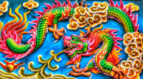 Dragon. The dragon is signature of China Stock Photos