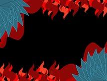 Dragon skin  flame background Royalty Free Stock Image