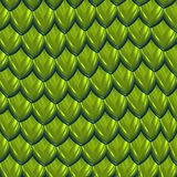 Dragon skin green scales background vector illustration