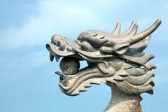 Dragon sky Stock Photo