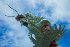 Dragon. Of sky Royalty Free Stock Image