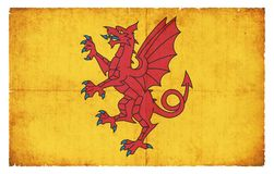 Dragon of Somerset (Great Britain) Stock Image