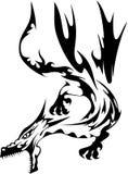 Dragon royalty free illustration