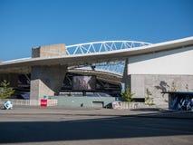 Dragon Stadium/Estadio faz Dragao, o Porto FC moído em Porto, Portugal fotografia de stock royalty free