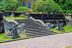 Dragon Stair In Hue Imperial-Stad, de Werelderfenis van Unesco van Vietnam stock fotografie